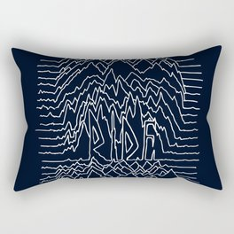 Ride Lines Rectangular Pillow