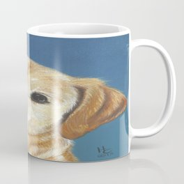Fenway a handsome Yellow Lab Coffee Mug