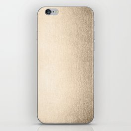 White Gold Sands iPhone Skin