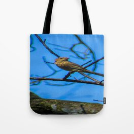 Birds in the Sky Tote Bag