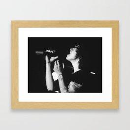 Harry Styles// One Direction Framed Art Print
