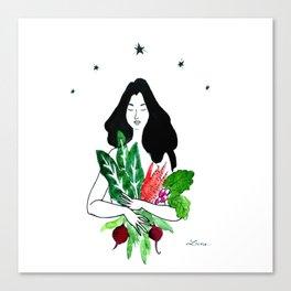 Les légumes de saison Canvas Print