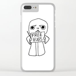 Voldy free hugs Clear iPhone Case