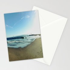 Twin Lakes State Park - Santa Cruz, California  Stationery Cards