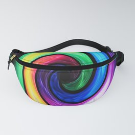 Abstract Perfection - Colorful Fanny Pack