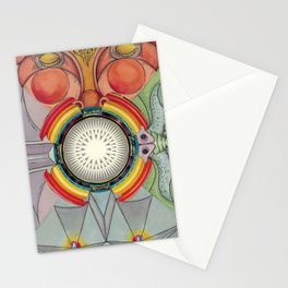 4 Faces Stationery Cards