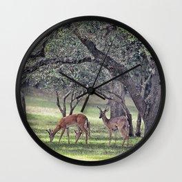 Young Bucks Wall Clock