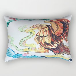 The Wings of Mexico Rectangular Pillow