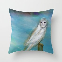 Opal Skies Throw Pillow