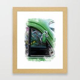 Mirror, Mirror on the car Framed Art Print