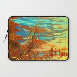 Autumn Nature Water Colors Laptop Sleeve
