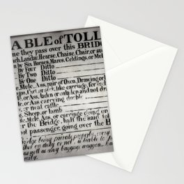 The Ironbridge Tolls Stationery Cards