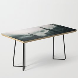 Over the Mountains and trough the Woods -  Forest Nature Photography Coffee Table