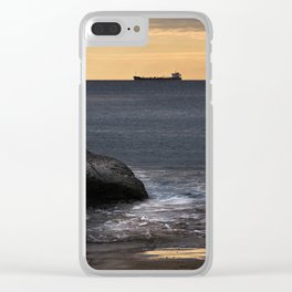 Ships May Come And Go Clear iPhone Case