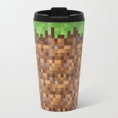Minecraft Dirt Block Travel Mug