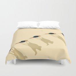 Camel caravan Duvet Cover
