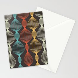 Geo Bulbs Stationery Cards