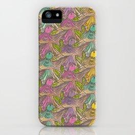 Parrots Escher Style iPhone Case