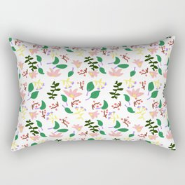 Might As Well Be Spring Pattern (Fixed) Rectangular Pillow