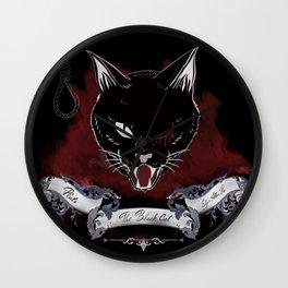The Black Cat - pluto Wall Clock