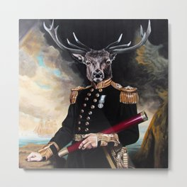 Yes My Deer Metal Print