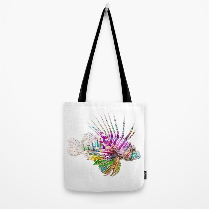 When I Dream of Lionfish Tote Bag