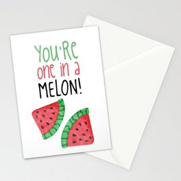 One In A Melon Stationery Cards