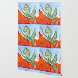 Fire Breathing Dragon Wallpaper