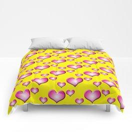 herzen collage Comforters
