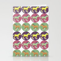 horses Stationery Cards featuring Horses by Bluetiz