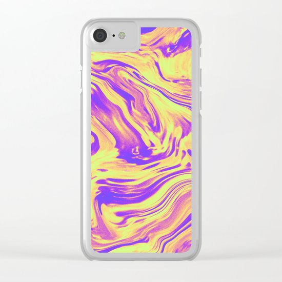 GIRL WITH ONE EYE Clear iPhone Case