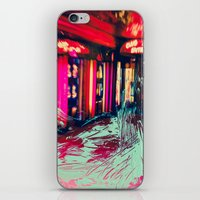 burlesque iPhone & iPod Skins featuring Burlesque by The Lola is Here Store