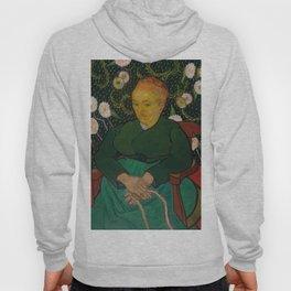Vincent van Gogh - La Berceuse (Woman Rocking a Cradle; Augustine-Alix Pellicot Roulin, 1851–1930) Hoody