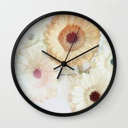 Flora Artistica No.01 Wall Clock