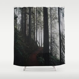 Happy Trails VI Shower Curtain