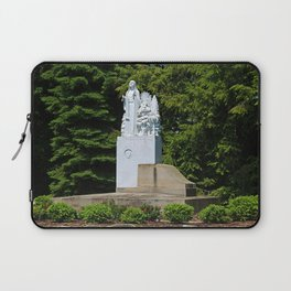 Lourdes University- Our Lady of Sylvania in the Spring (horizontal) Laptop Sleeve