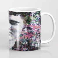 elvis Mugs featuring ELVIS PRESLEY by Vonis