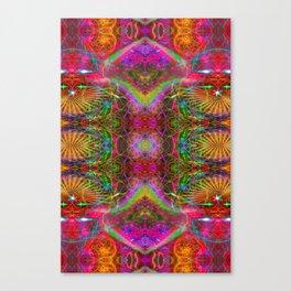 Techno Electric V Canvas Print