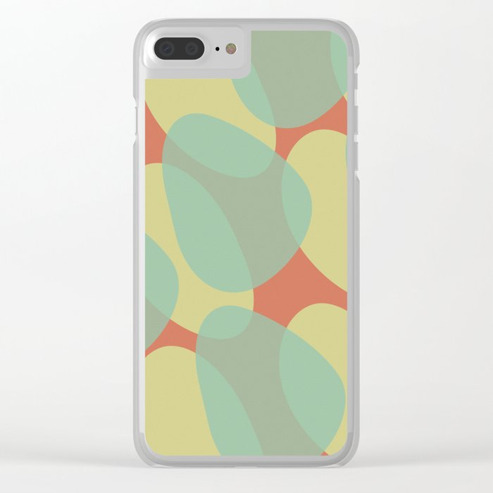 Copy and Paste V Clear iPhone Case