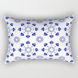blue morrocan dream no2 Rectangular Pillow