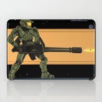 master chief iPad Cases featuring Master Chief by Arnix