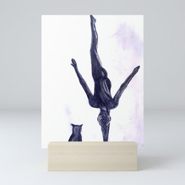 Yoga Sara 4 Mini Art Print