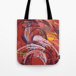 Red Bang Tote Bag