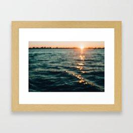 The Light In August Framed Art Print