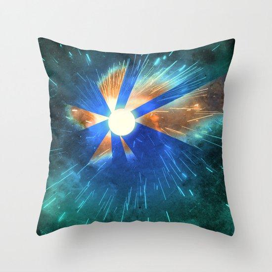 Light Flares Throw Pillow