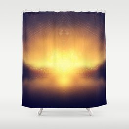 welcome to the dream gate. ayahuasca trip Shower Curtain