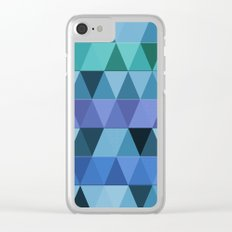 Abstract #297 Clear iPhone Case