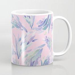 Succulent Pattern Pink- watercolor Coffee Mug