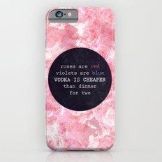 VODKA IS CHEAPER iPhone 6s Slim Case