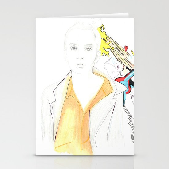 Whe love Fashion Stationery Cards
